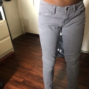 Old grey forever21 jeans